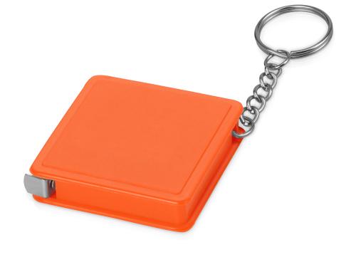 Брелок-рулетка, 1 м., оранжевый 1м