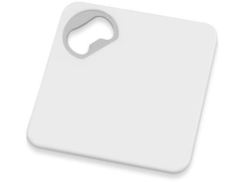 Подставка с открывалкой для кружки «Liso», черный/белый