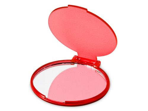 """Зеркало """"Carmen"""", красный прозрачный"""