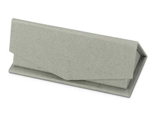Подарочная коробка для флеш-карт треугольная, серый