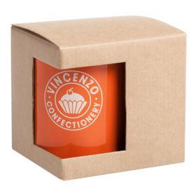 Коробка для кружки с окошком