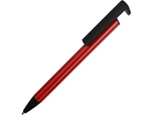 Ручка-подставка шариковая «Кипер Металл», красный