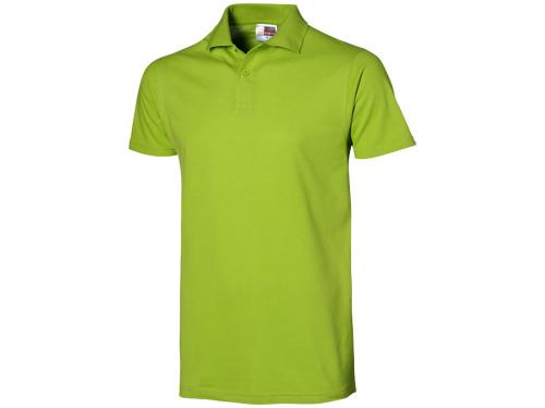 """Рубашка поло """"First C"""" мужская, зеленое яблоко L"""