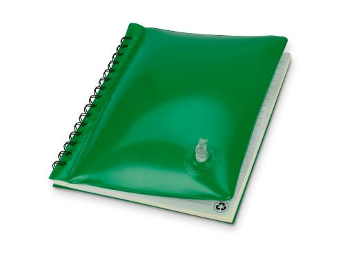"""Блокнот А5 """"Малокен"""", зеленый"""