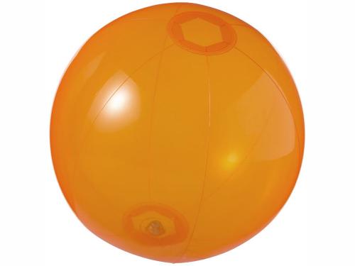 Мяч пляжный «Ibiza», оранжевый прозрачный