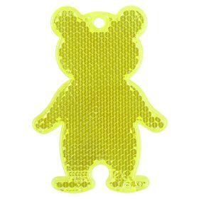 Пешеходный светоотражатель «Мишка»