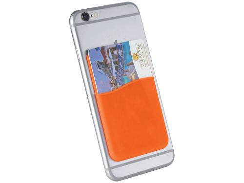 Тонкий чехол для карт, оранжевый