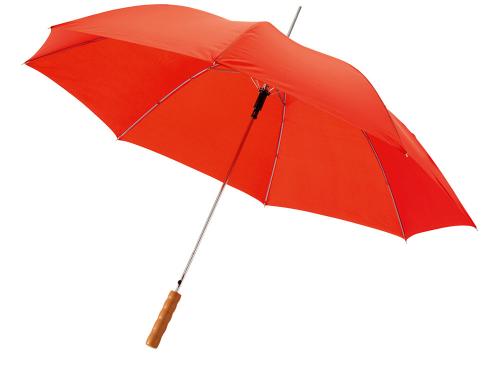 """Зонт-трость """"Lisa"""" полуавтомат 23"""", красный"""