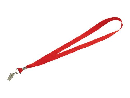 """Шнурок с поворотным зажимом """"Igor"""", красный"""