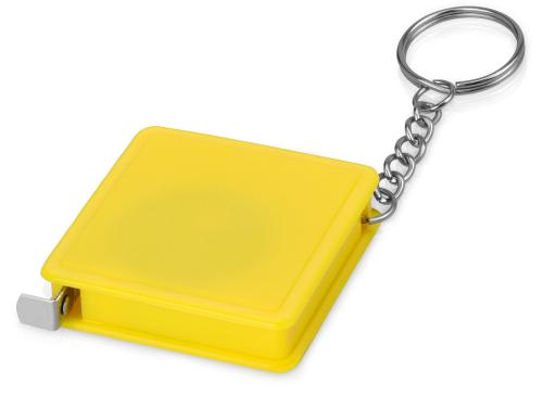 Брелок-рулетка, 1 м., желтый 1м
