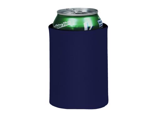 """Складной держатель-термос """"Crowdio"""" для бутылок, темно-синий"""