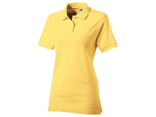 """Рубашка поло """"Boston"""" женская, светло-желтый S"""