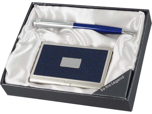 Набор: ручка шариковая, визитница. Pierre Cardin