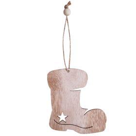 Елочная игрушка Wood
