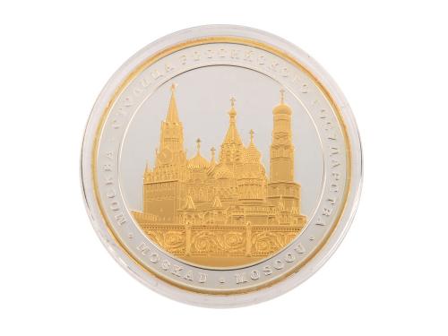 """Памятная медаль """"Две столицы"""""""