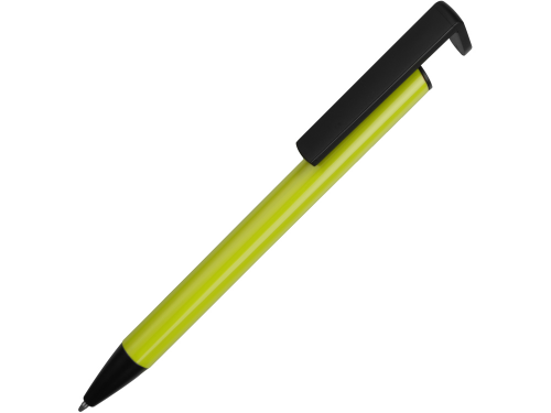 Ручка-подставка шариковая «Кипер Металл», зеленое яблоко