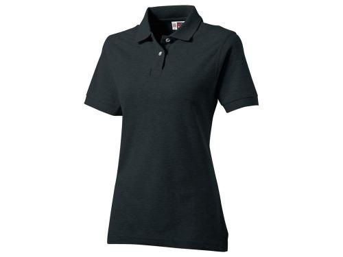 """Рубашка поло """"Boston C"""" женская, черный L"""