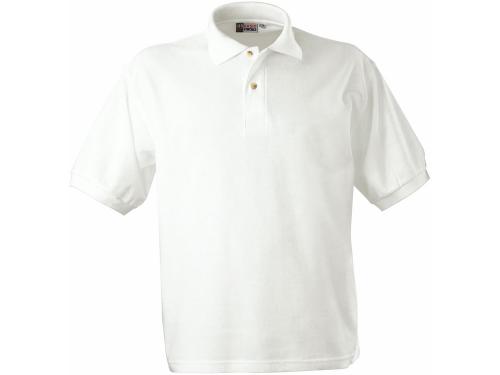 "Рубашка поло ""Boston C"" мужская, белый 2XL"