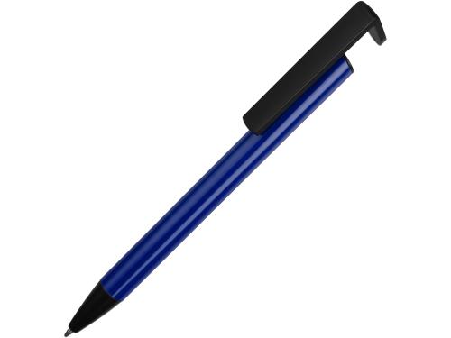 Ручка-подставка шариковая «Кипер Металл», синий
