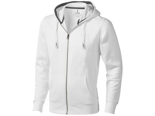 Толстовка «Arora» мужская с капюшоном, белый XL