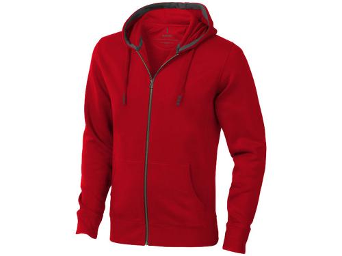 Толстовка «Arora» мужская с капюшоном, красный S