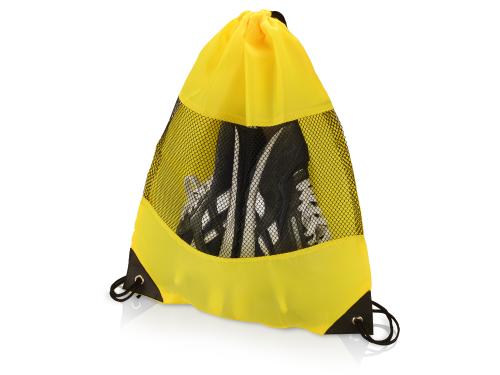 """Рюкзак-мешок """"Вспомогательный"""", желтый"""
