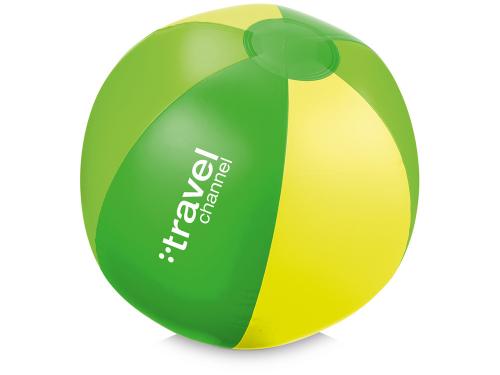 Мяч надувной пляжный «Trias», зеленый