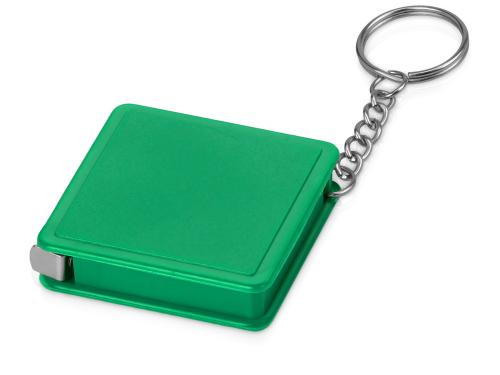 Брелок-рулетка, 1 м., зеленый 1м