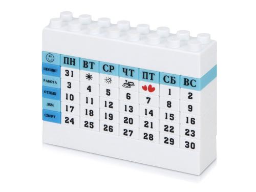 "Календарь ""Лего"", синий"