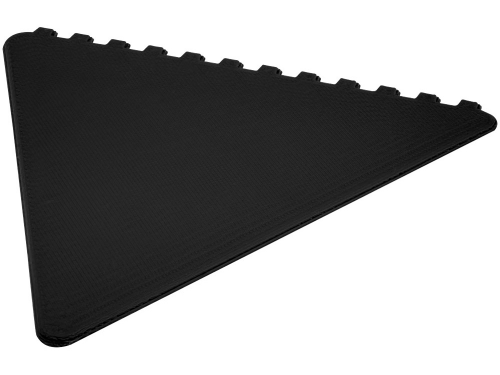 Треугольный скребок Frosty, черный