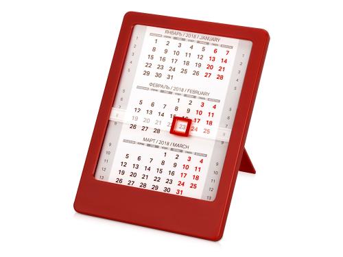 """Календарь """"Офисный помощник"""", красный"""