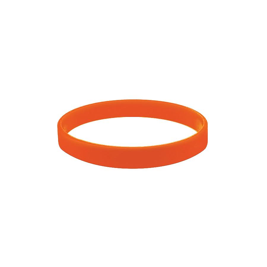 """Браслет силиконовый """"Фантазия"""";  D7 см, оранжевый"""