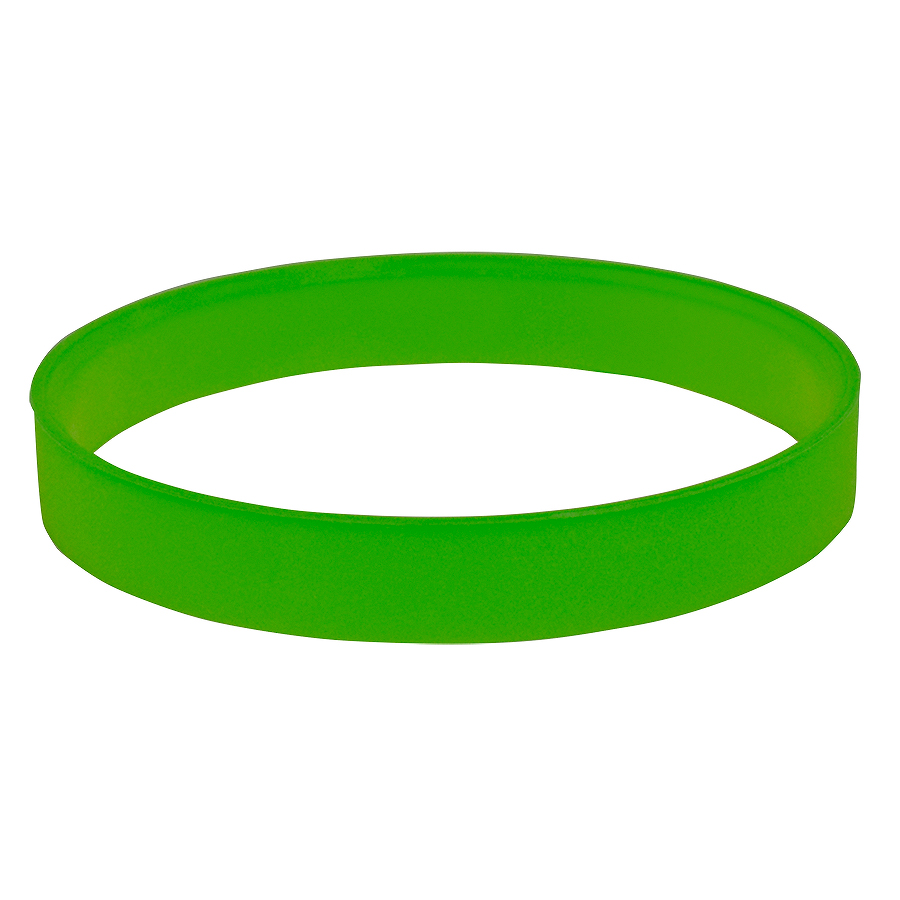 """Браслет силиконовый  """"Фантазия-2""""; D6 см;  зеленый"""