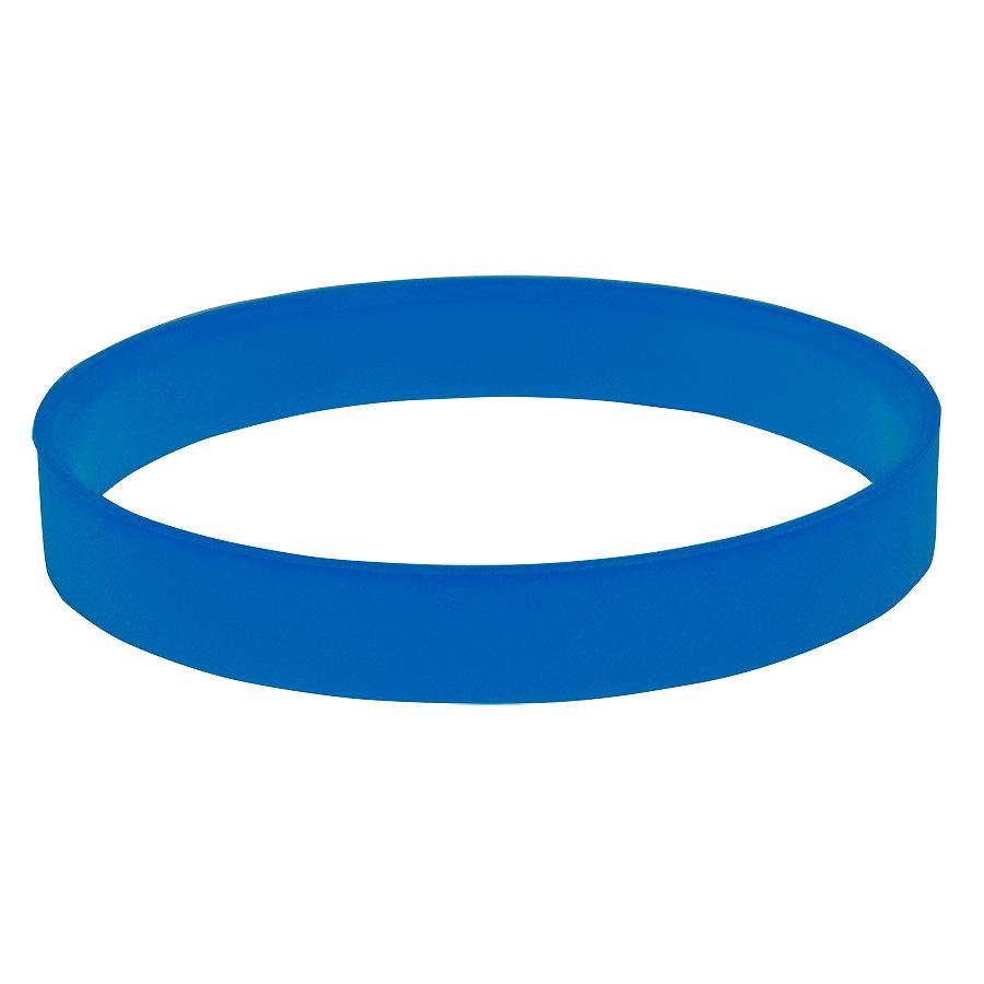 """Браслет силиконовый """"Фантазия-2"""";  D 6 см;  синий"""