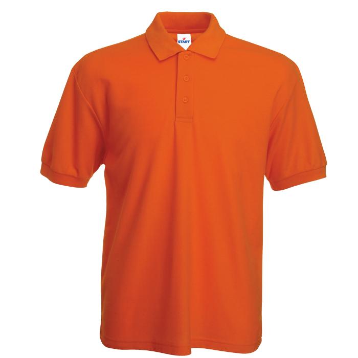 "Поло ""Mister Style"" -170 г/м2, 100% хлопок, оранжевый_S"