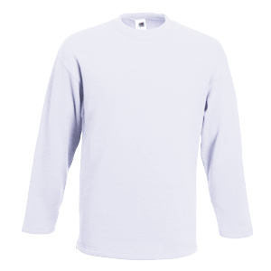 "Толстовка ""Open End Sweat"", белый_2XL, 30% п/э, 70% х/б, 260 г/м2"