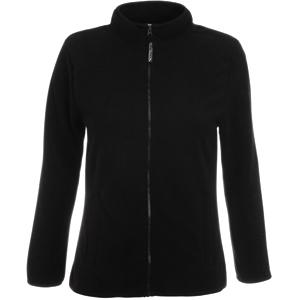 """Толстовка """"Lady-Fit Full Zip Fleece"""", черный_XL, 100% п/э, 250 г/м2"""