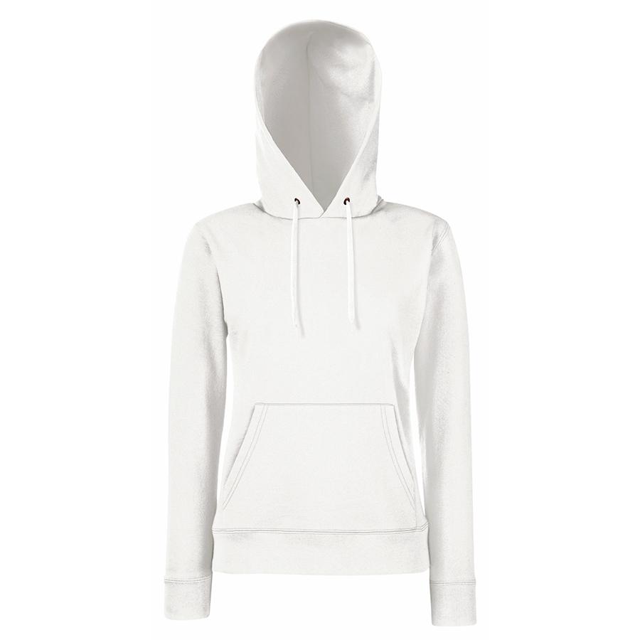 "Толстовка ""Lady Hooded Sweat "", белый_XL, 75% х/б, 25% п/э, 280 г/м2"