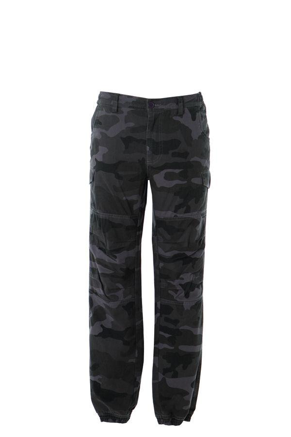 KABUL Штаны с карманами, темно-синий, размер XL