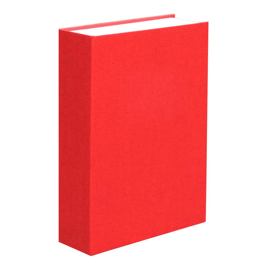 "Сейф ""Книга"";  красный; 23,5х15,5х5,5 см; металл; шильд"