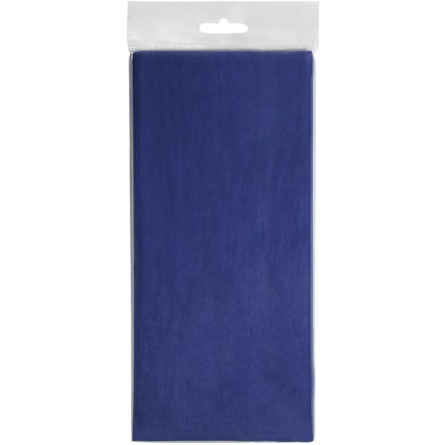 """Упаковочная бумага """"Тишью"""", синий,  10 листов в упаковке, размер листа 50*75 см"""