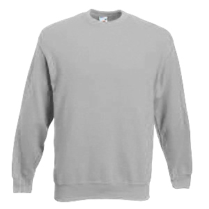 "Толстовка ""Heavy Set-In Sweat"", серо-лиловый_2XL, 80% х/б, 20% п/э, 340 г/м2"