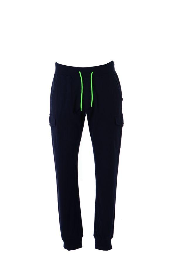 DAMASCO Штаны с карманами, темно-синий, размер XL