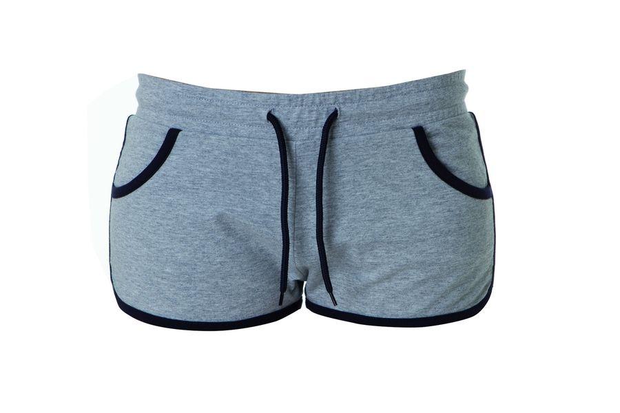 CRETA LADY Жен. шорты серый меланж, размер XL