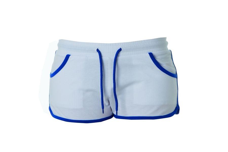 CRETA LADY Жен. шорты белый, размер XL