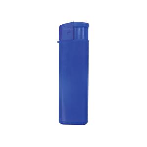 Зажигалка пьезо ISKRA, синяя, 8,24х2,52х1,17 см, пластик/тампопечать