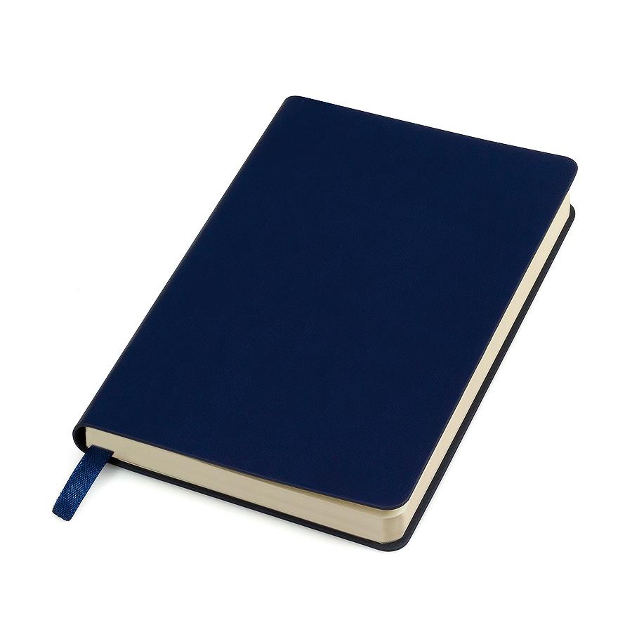 """Блокнот """"URBAN"""", 90 × 140 мм,  синий,   мягкая обложка,  блок-клетка, тиснение"""