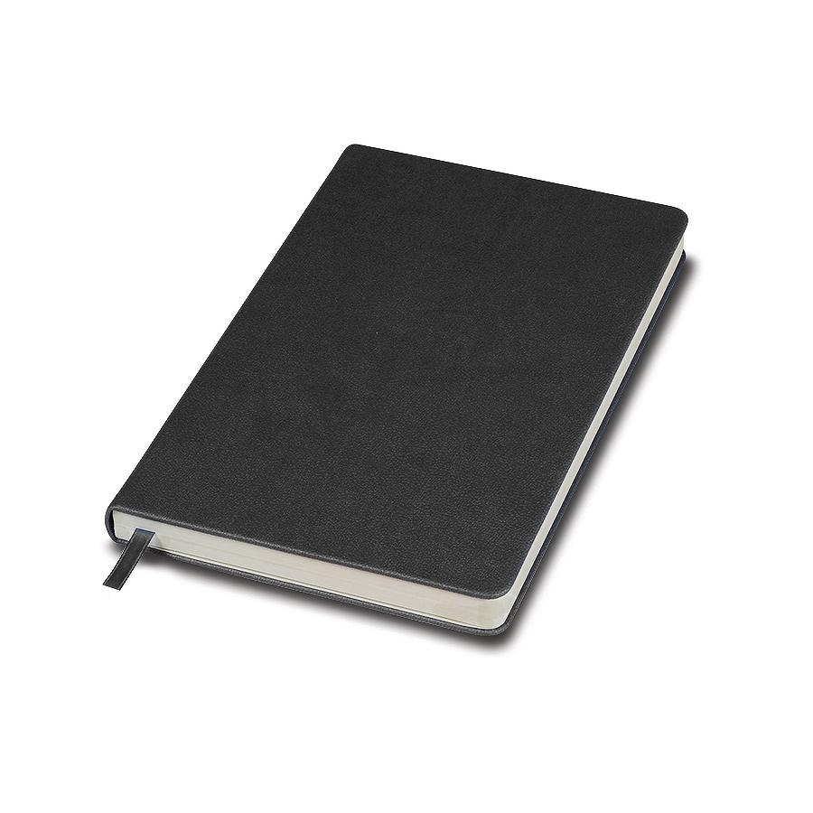 """Бизнес-блокнот """"Classic"""", 130*210 мм, серый,  твердая обложка, блок-линейка, тиснение"""