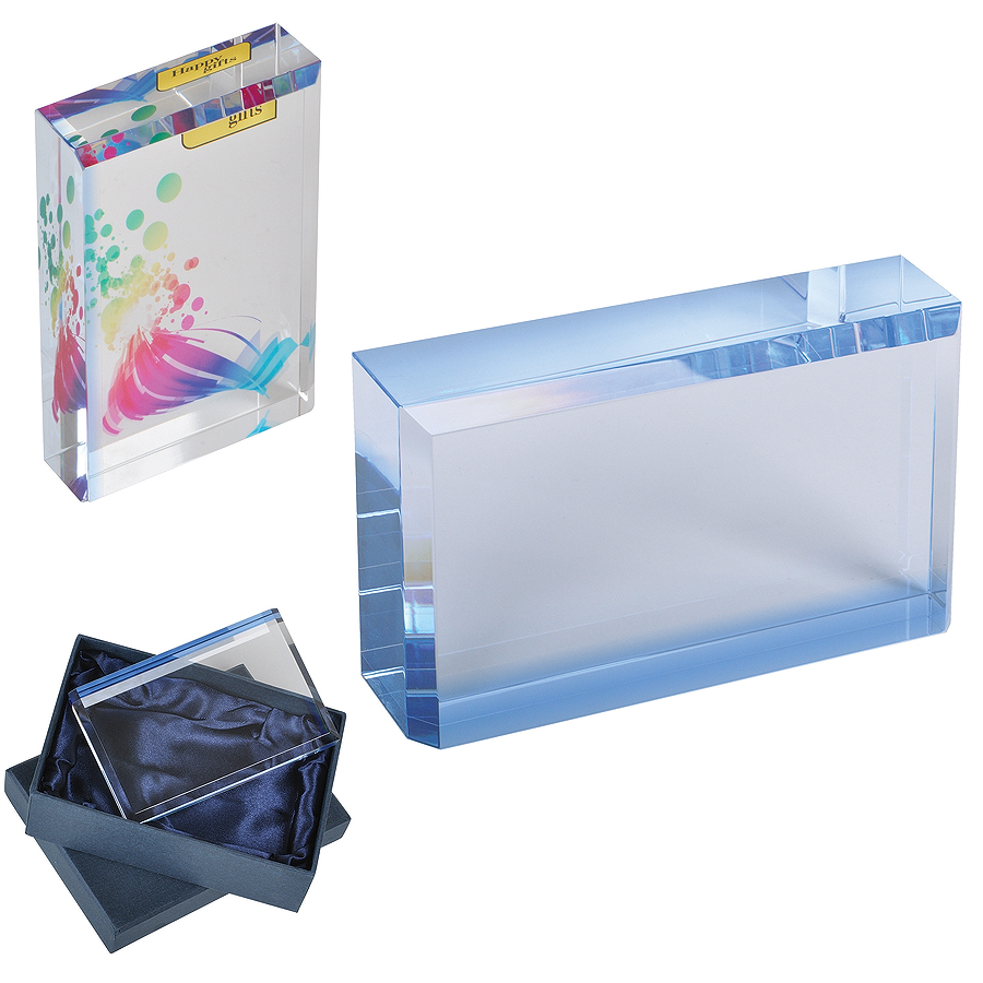 "Кристалл ""Glass"", 12х7,5х2,5см, стекло"