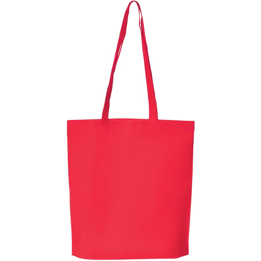 """Сумка для покупок """"PROMO""""; красная; 38 x 45 x 8,5 см;  нетканый 80г/м2"""